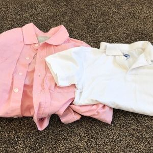 Children's Place Button Up and Uniform Shirt